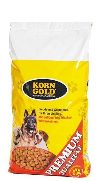 Hundefutter Korngold Premium. Trockenfutter für Hunde.
